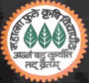 SRF Agriculture Engineering Jobs in Ahmednagar - Mahatma Phule Krishi Vidyapeeth