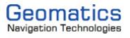 Geomatics Navigation Technologies