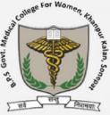 Sr. Resident / Demonstrators Jobs in Sonipat - BPS Government Medical College for Women - Govt. of Haryana