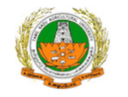 SRF Agri. Jobs in Coimbatore - Tamil Nadu Agricultural University