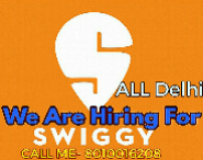 Delivery Executive Jobs in Delhi,Faridabad,Gurgaon - Swiggy