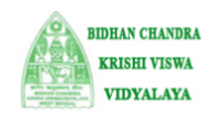 Research Fellow Plant Pathology Jobs in Kolkata - Bidhan Chandra Krishi Viswavidyalaya