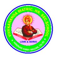 Vivekananda MatricHr.sec School Red hills