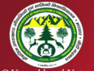Uttarakhand University of Horticulture Forestry