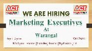 Marketing Executive Jobs in Warangal - ACT Fibernet