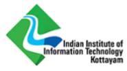 Ph.D Programme Jobs in Kottayam - IIIT Kottayam