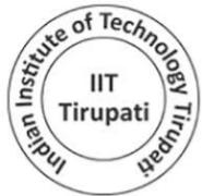 Medical Officer/ Physical Training Instructor/ Junior Engineer Jobs in Tirupati - IIT Tirupati