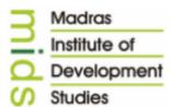 Jr. Asst. Jobs in Chennai - Madras Institute of Development Studies