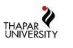 SRF Science Jobs in Patiala - Thapar University