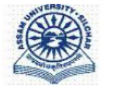 Guest Faculty Statistics Jobs in Silchar - Assam University