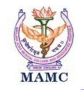 Senior Resident Community Medicine Jobs in Delhi - Maulana Azad Medical College