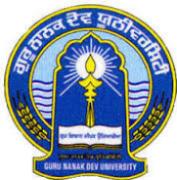Project Fellows/ Data Entry Operators Jobs in Amritsar - Guru Nanak Dev University