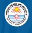 JRF/Project Fellow Jobs in Pondicherry - Pondicherry University
