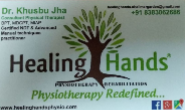 counsaltant physiotherapist Jobs in Ghaziabad - Healing hands physiotherapy Aand rehablitation shalimar garden