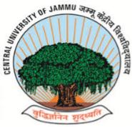 Research Assistant/ Field Investigators Jobs in Jammu - Central University of Jammu