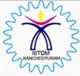 JRF Electronics Jobs in Chennai - IIITDM Kancheepuram