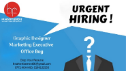 Marketing Executive Jobs in Raipur - Hr Advertisement