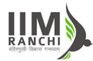 Research Associate Human Resource Management Jobs in Ranchi - IIM Ranchi