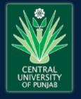 JRF Animal Sciences Jobs in Bathinda - Central University of Punjab