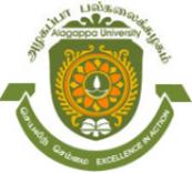 Chair Professor Jobs in Chennai - Alagappa University