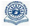 Guest Faculties Business Administration Jobs in Guwahati - Assam University