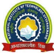 Consultants Jobs in Garhwal Srinagar - NIT Uttarakhand