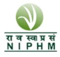 Director / Assistant Director / Associate Warden Jobs in Hyderabad - NIPHM