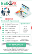 IT Software Engineer Jobs in Delhi,Faridabad,Gurgaon - Neoark Software Pvt Ltd