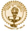 Assistant Professor Economics Jobs in Delhi - Satyawati College Evening - University of Delhi