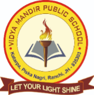 Teacher Jobs in Ranchi - VIDYA MANDIR PUBLIC SCHOOL Ranchi