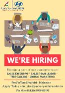 Sales Executive Jobs in Chennai - PEEYESYEM HYUNDAI