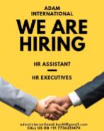 HR Executive Jobs in Kochi - ADAM INTERNATIONAL