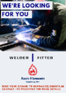 WELDER Jobs in Hyderabad - Basic Elements Solutions