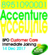 AR Calling Jobs in Bangalore - White Horse Manpower Consultancy P Ltd.