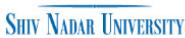 JRF Mathematics Jobs in Noida - Shiv Nadar University