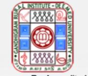 Guest Faculty Jobs in Chennai - Gandhigram Rural Institute