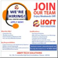 Tele-Sales Executive / Sr.Tele-Sales Executive Jobs in Chennai - ISoftts Technologies Pvt Ltd
