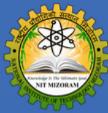 Assistant Professors/Associate Professors / Professors Jobs in Aizawal - NIT Mizoram