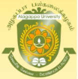 Research Assistant/ Secretarial Assistant Jobs in Chennai - Alagappa University