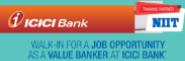 Value Banker Jobs in Bangalore,Mumbai,Chennai - NIIT