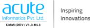 Associate Software Developer Jobs in Ahmedabad - Acute Informatics Pvt Ltd