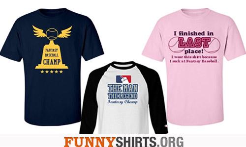 Fantasy Baseball Shirts