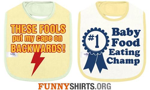 Funny Baby Bibs