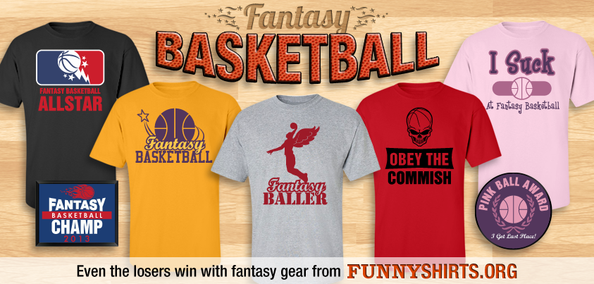 Fantasy Basketball Apparel