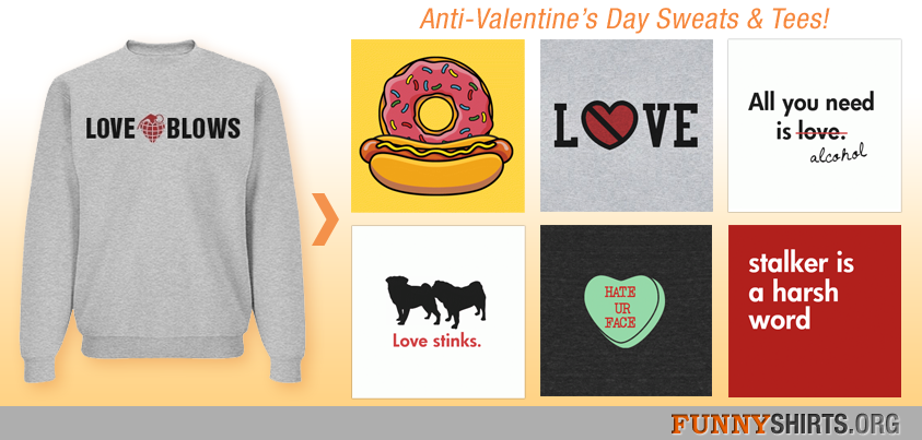 Anti-Valentine Shirts Featured Image