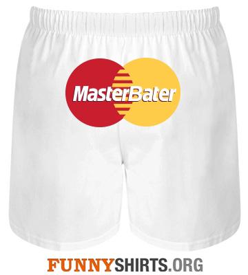 Funny Underwear MasterBater