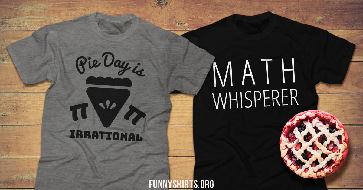 Funny Math Shirts