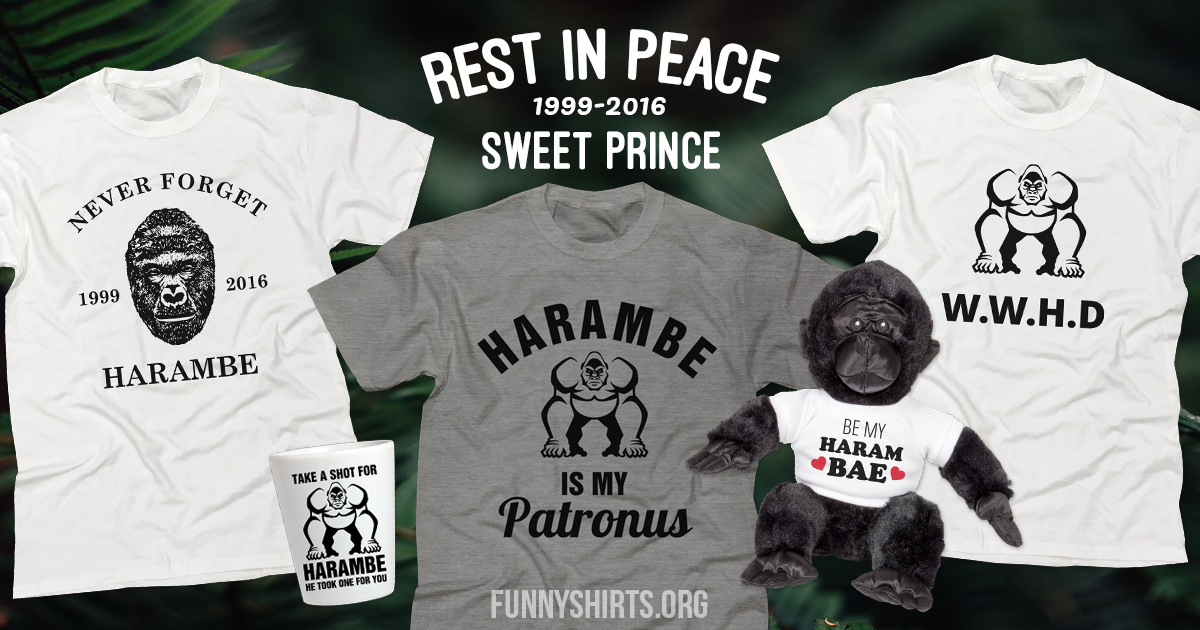 The Best Harambe Shirts