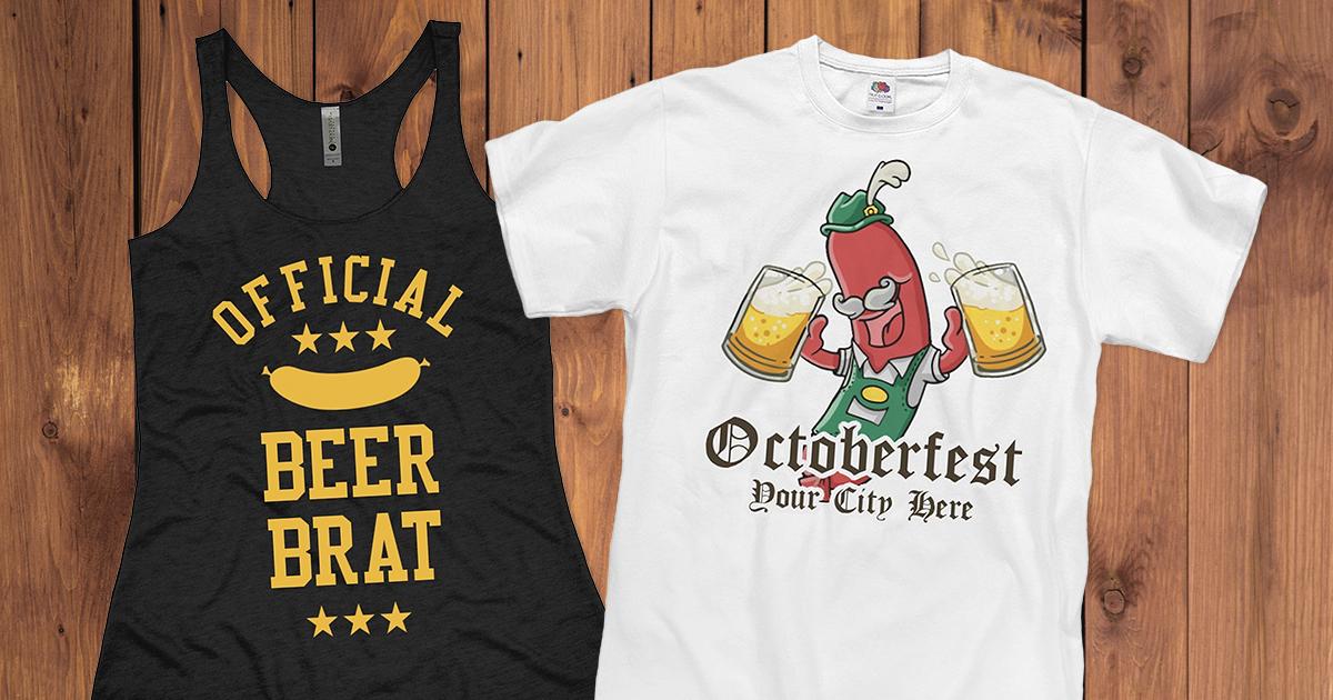 Funny Oktoberfest Shirts