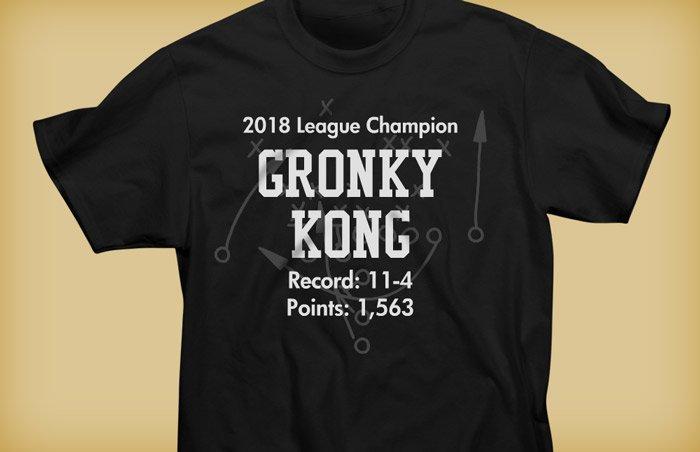 Fantasy Football Shirts Customized